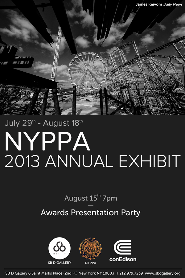 NYPPA 2013 Annual Exhibit at SB D Gallery
